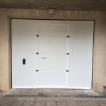 porte sectionnelle avec portillon gargenville