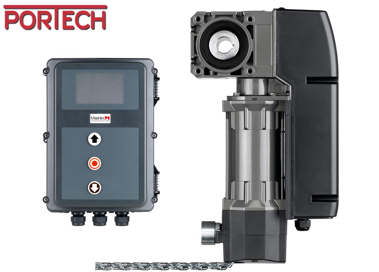 Moteur Pour Porte Sectionnelle Industrielle 380v Commande Cs310 Automatique Confort
