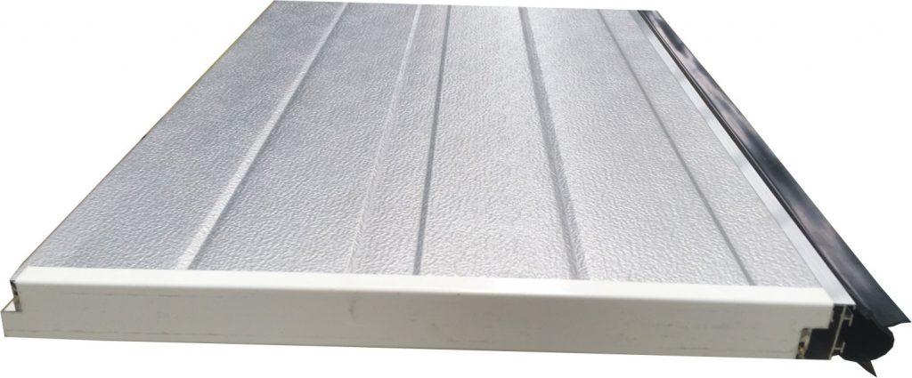 Panneaux pour porte sectionnelle crawford type 342 en acier epaisseur 40mm portech - Porte sectionnelle crawford ...