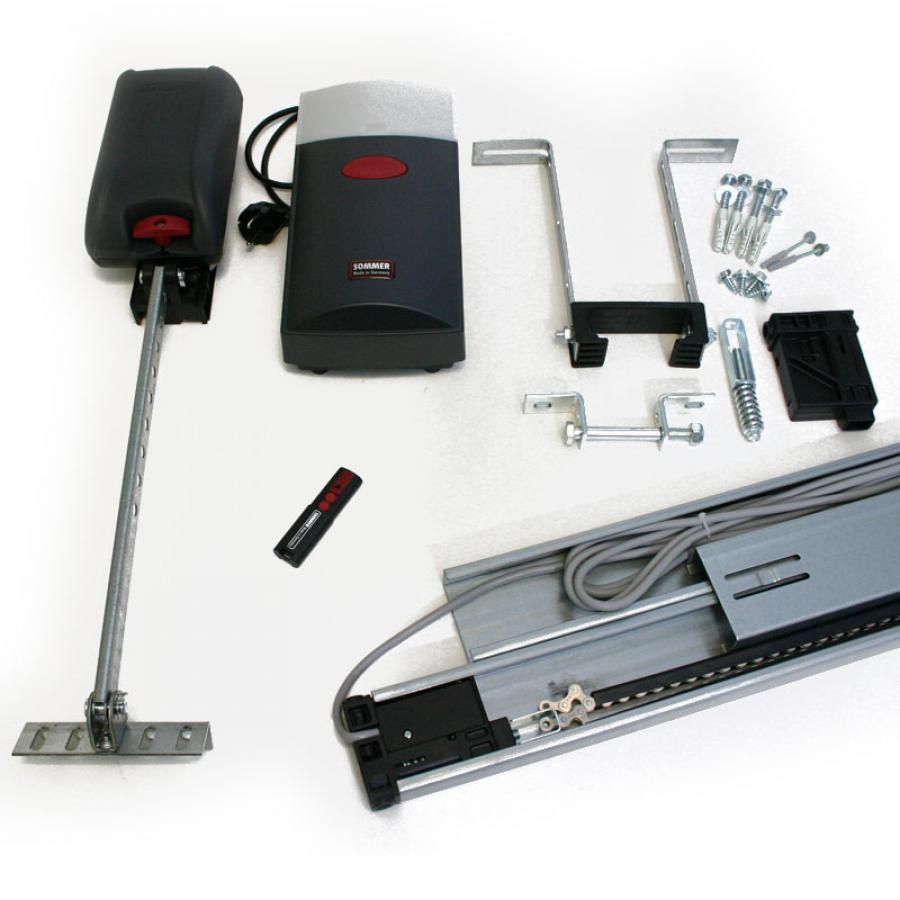Duo 650 kit motorisation de porte de garage portech - Automatisation porte garage ...