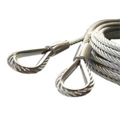 Parachute et câbles