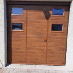 porte sectionnelle avec portillon fontenay-pf