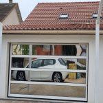 porte de garage transparente