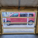 porte de garage vitre completement portech